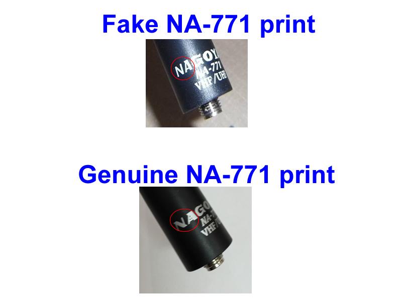 Antena Nagoya Original ou Falsa